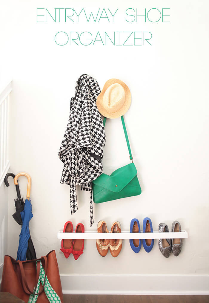 Get The Full Entryway Shoe Organizer Tutorial Here