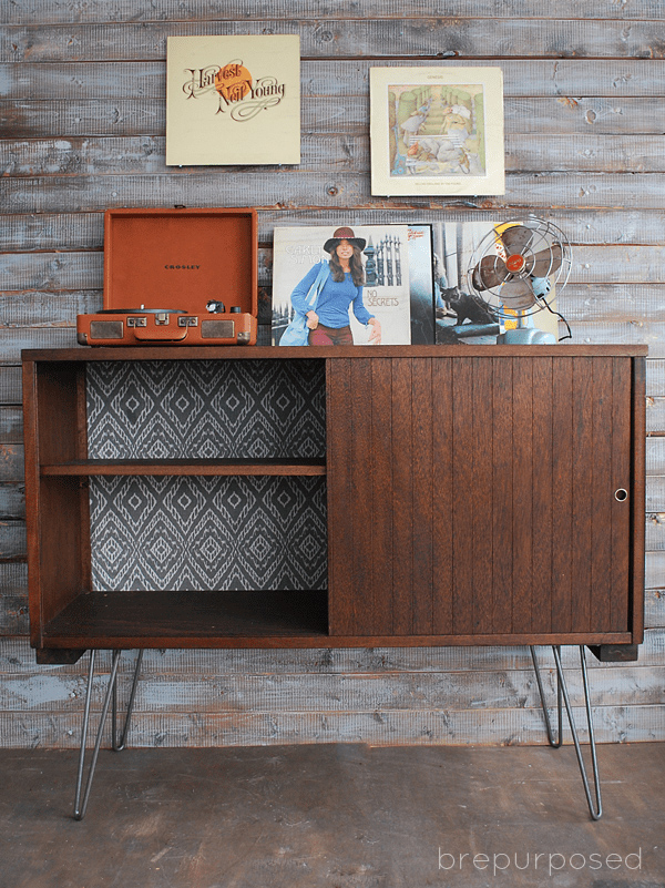 DIY Mid-Century furniture Modern Buffet Makeover