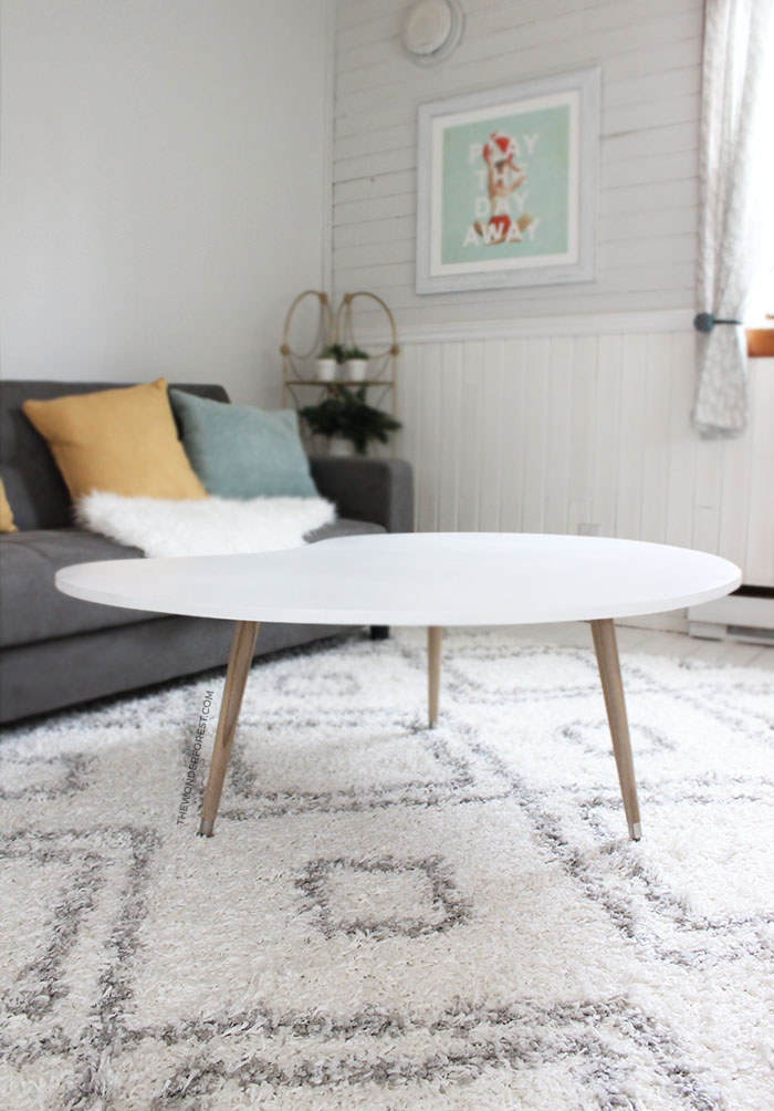 DIY Mid-Century furniture Modern Coffee Table