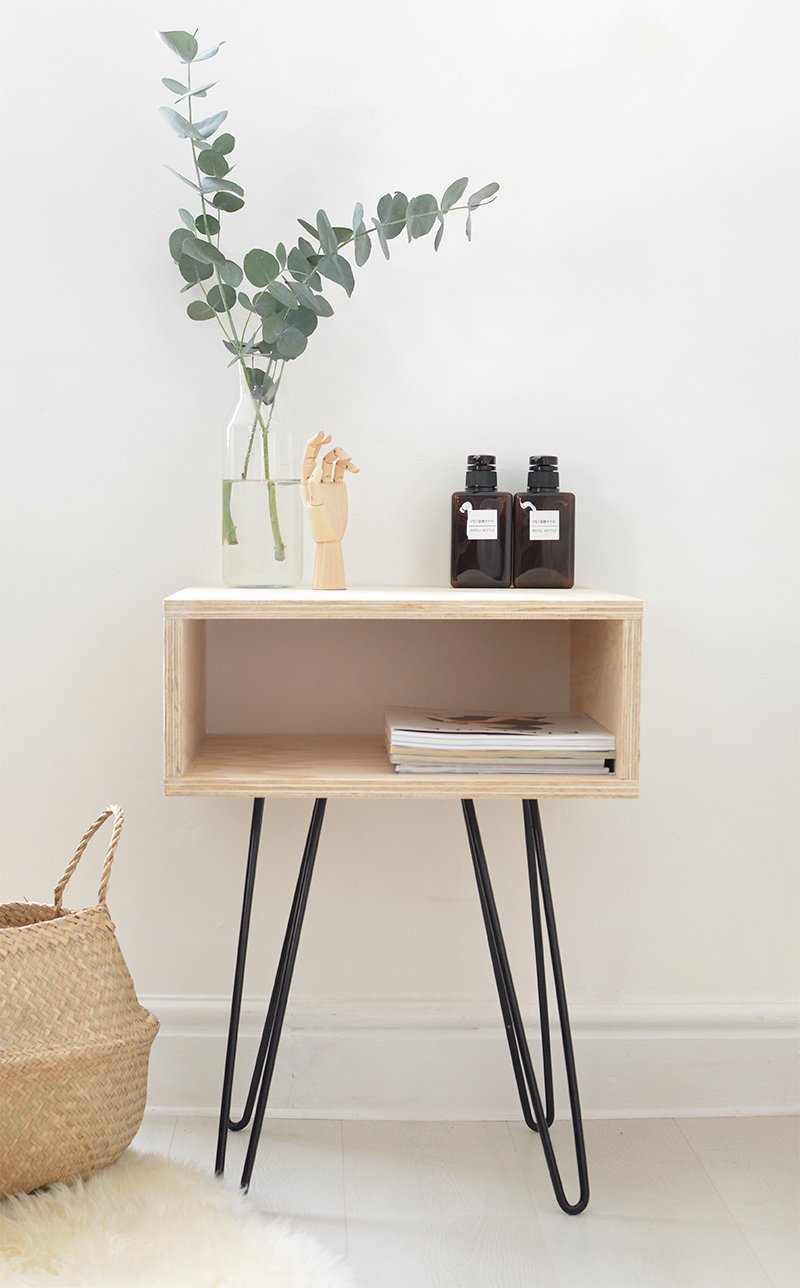 DIY Mid-Century furniture Modern Nightstand