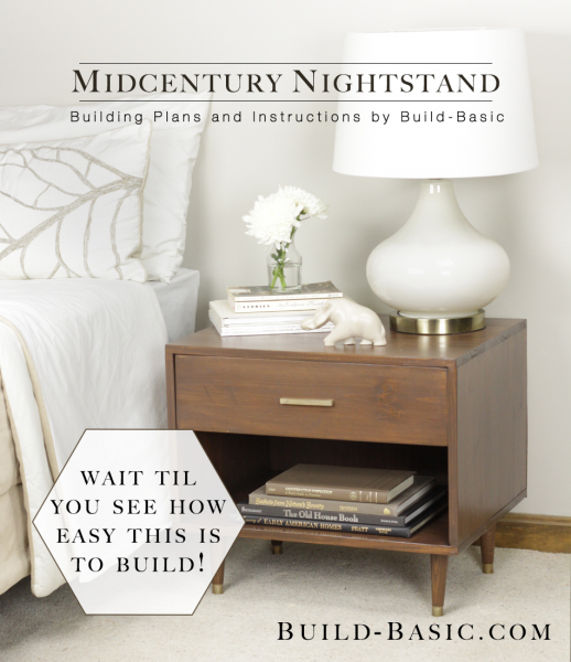 How to Build a DIY Mid-Century furniture Modern Nightstand
