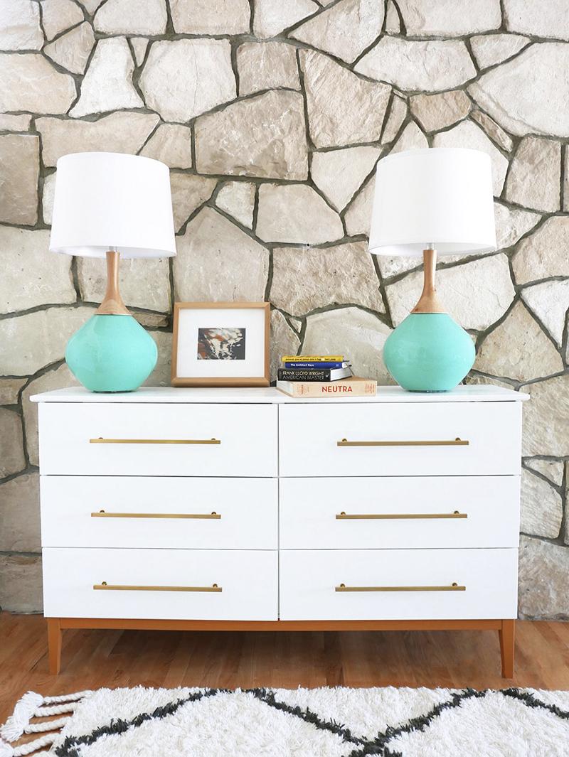 Mid-Century Modern Dresser DIY