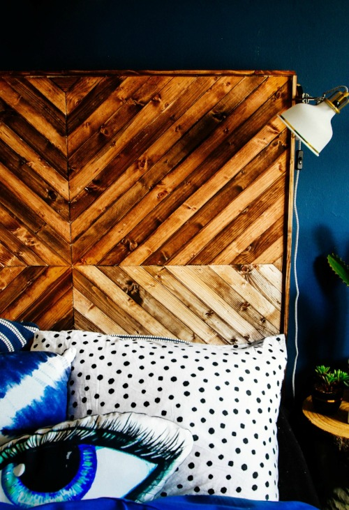 DIY WOODEN HEAD BOARD / GRILLO DESIGNS