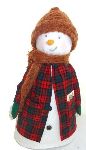 Old Fashioned Snowman Craft / DIY Snowman Decorations / Grillo Designs www.grillo-designs.com
