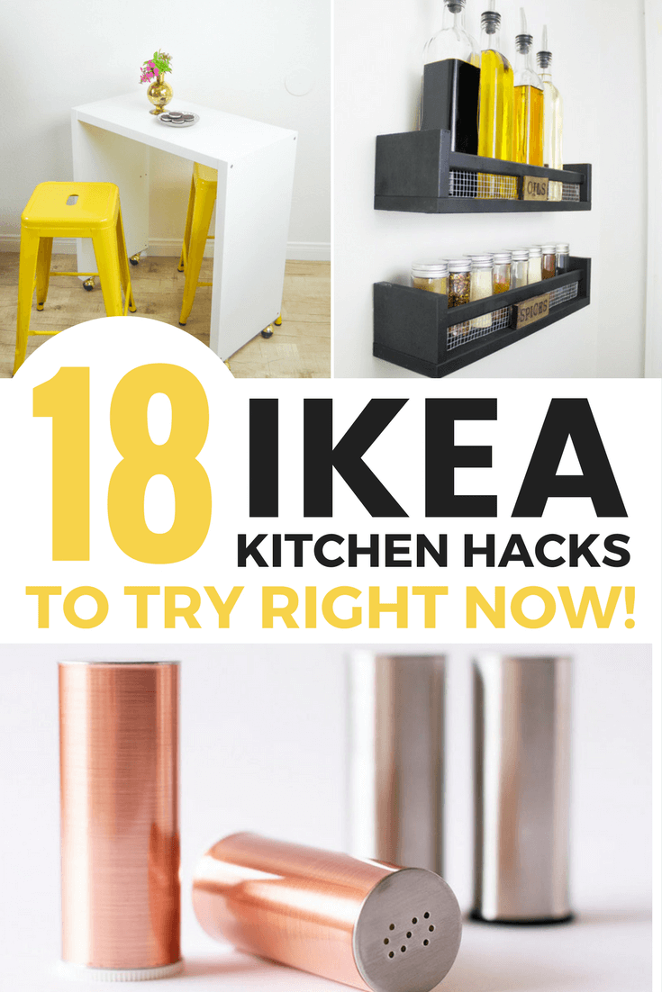 DIY ikea kitchen hacks for your home / Grillo Designs www.grillo-designs.com
