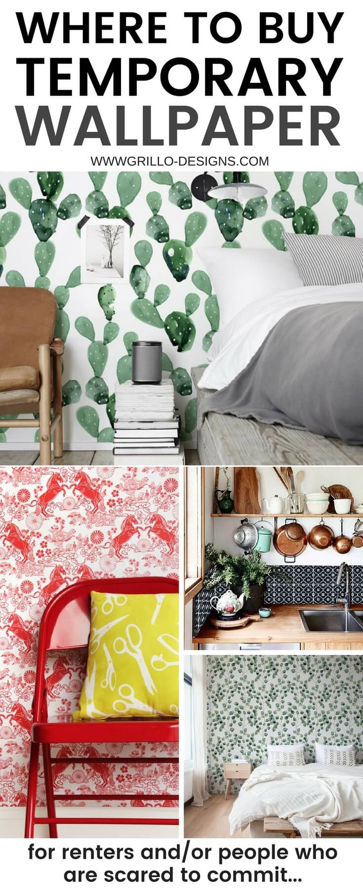 The Best Places To Buy Temporary Wallpaper Online Grillo