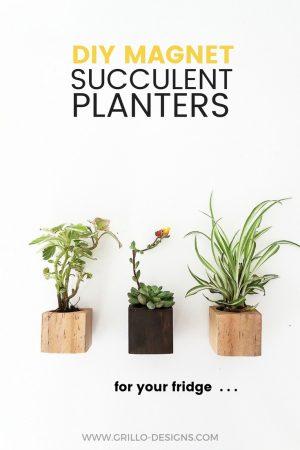 DIY MAGNET PLANTERS PINTEREST GRILLO DESIGNS