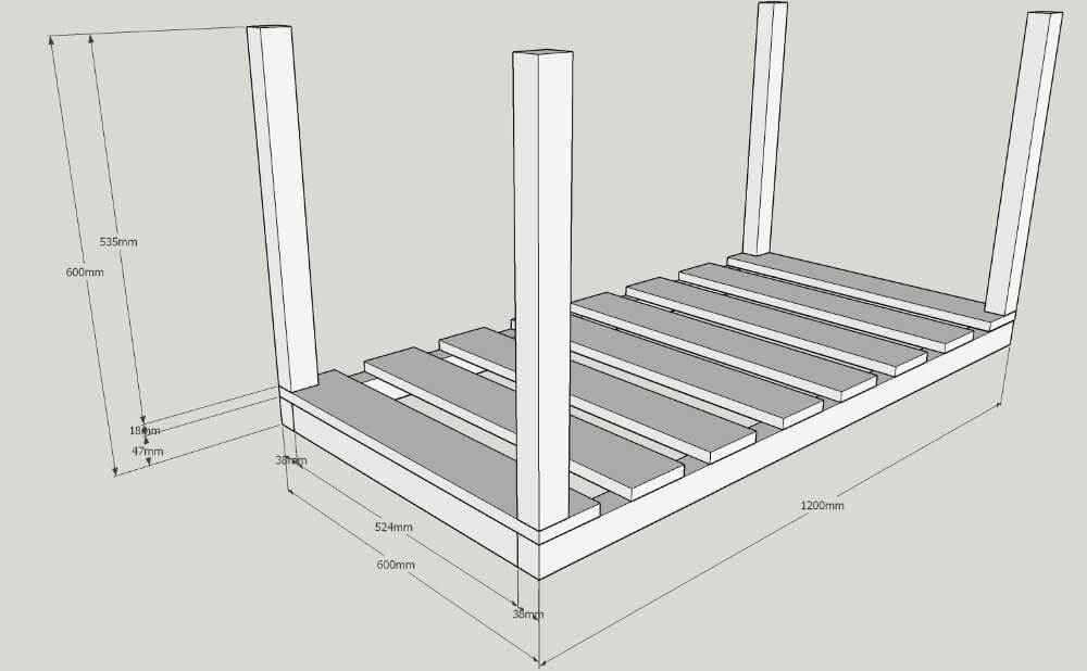 more plans for diy trough planter box / grillo designs
