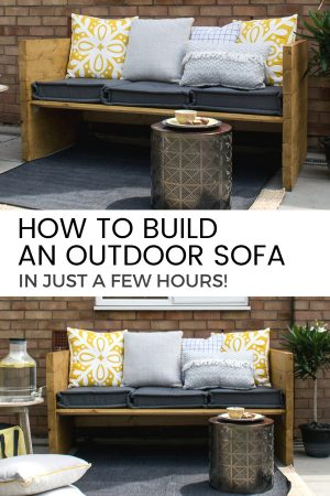 How to build an outdoor sofa / grillo designs
