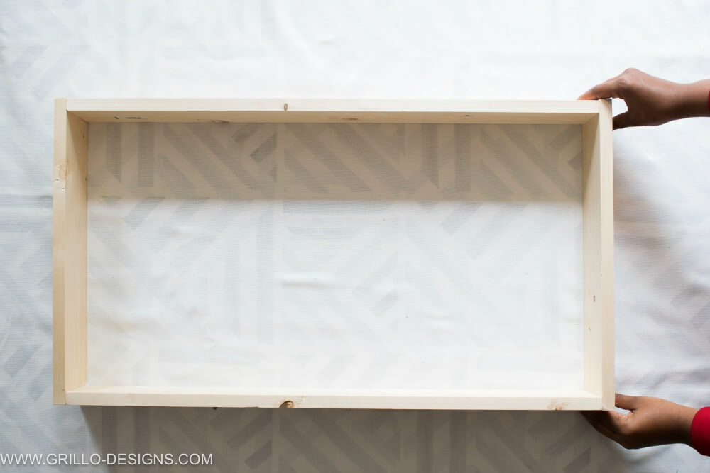 Build the wooden trays for the diy rolling bar cart / grillo designs
