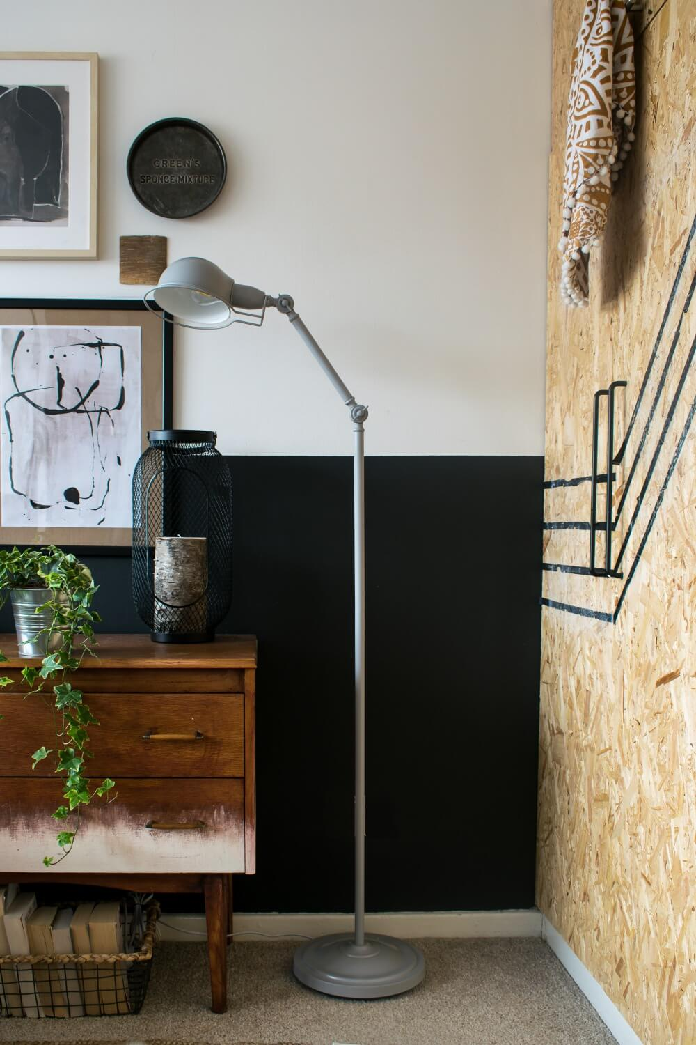 Affordable mid century floor lamp from my modern lighting collection / grillo designs