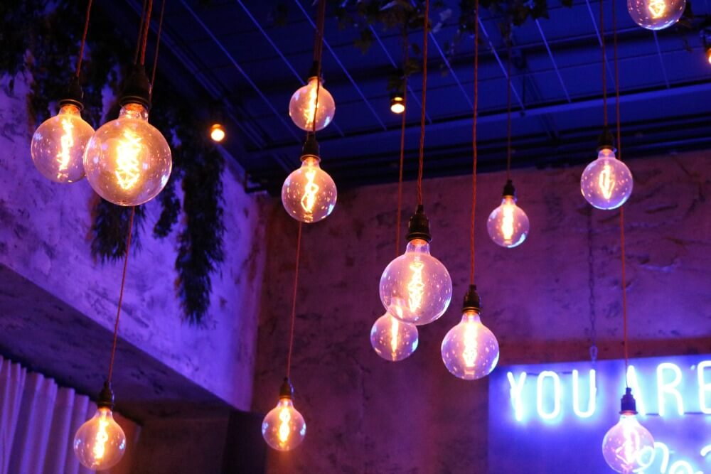 Menegerie venue for the modern lighting collection launch / grillo designs