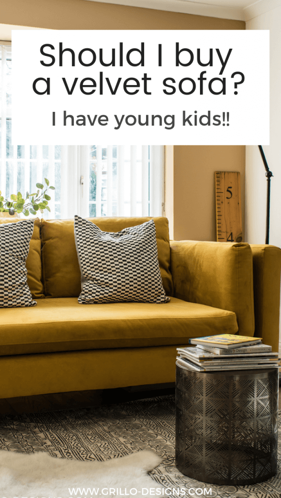 Just because you have kids doesnt mean you have to give up on style completely. Here are 6 easy tips for mums on how to care for a velvet sofa.