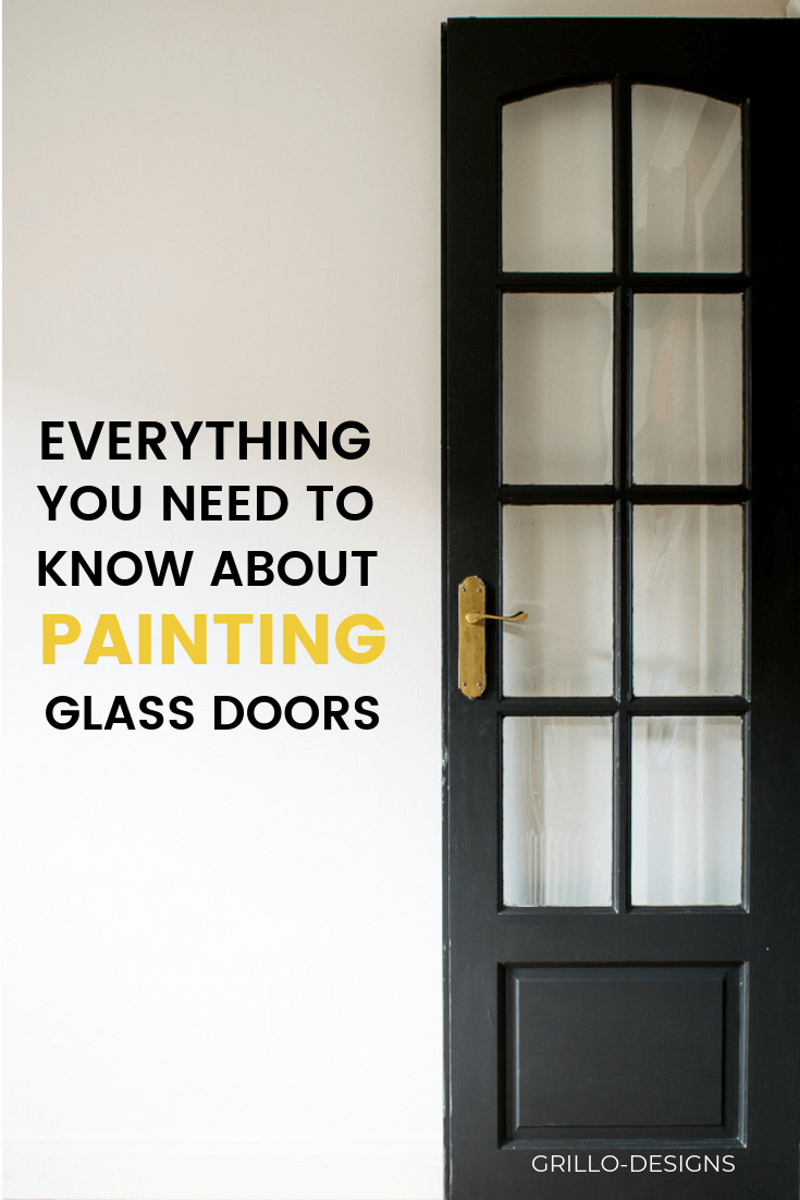 How to paint glass panel doors like a pro
