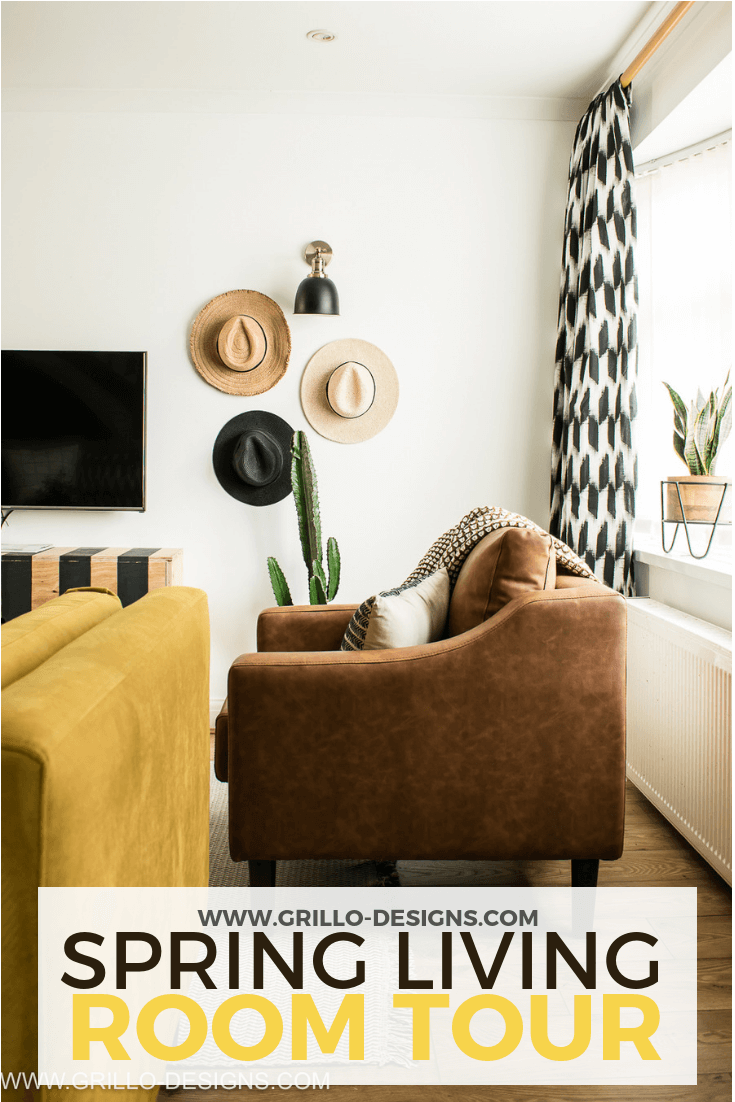 Spring living room tour with argos home products