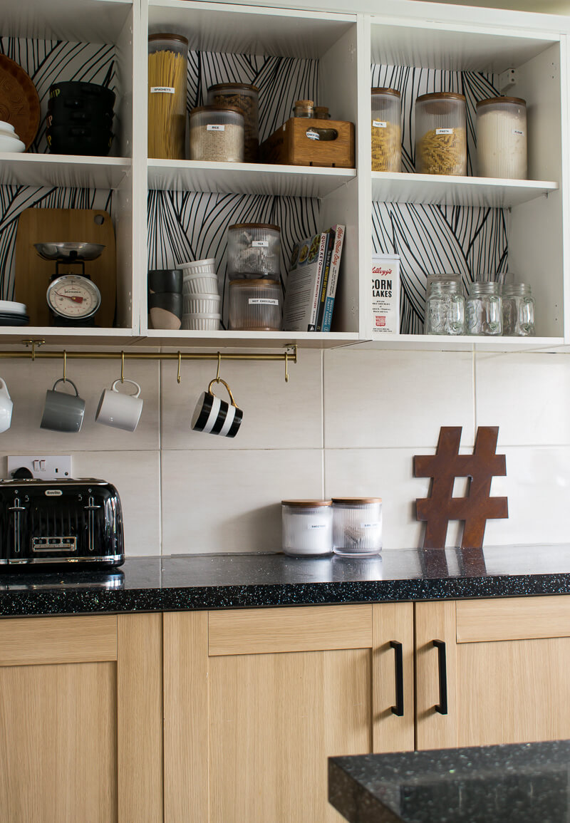 Rental Kitchen Update: How To Convert Existing Cabinets
