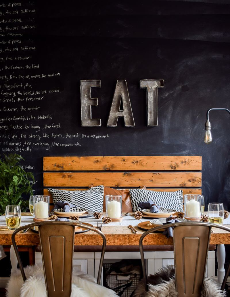 Modern styling tablescape for john lewis and partners