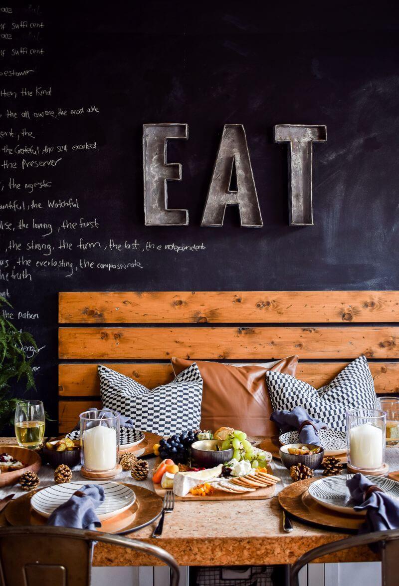 Festive table styling with john lewis and partners