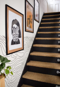 Staircase Gallery Wall : How to Hang and Arrange Art