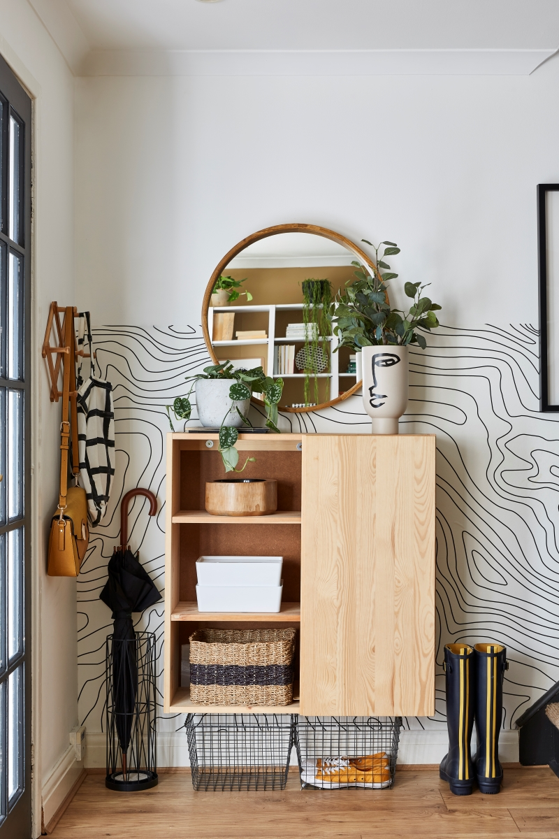 Stylish ikea ivar cabinet without the doors