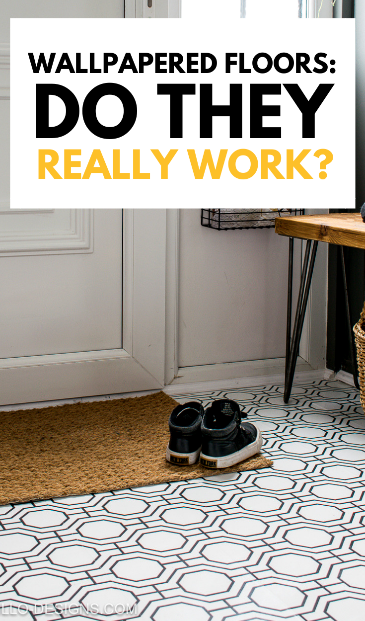 Do wallpapered floors really work pinterest grpahic