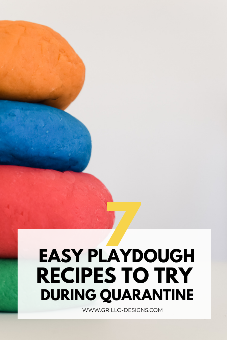 Here are 7 easy playdough recipes you can try making right now
